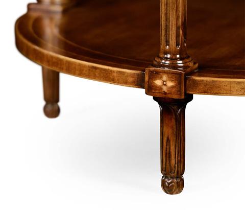 Jonathan Charles - Napoleon III Style Round Side Table - 495007