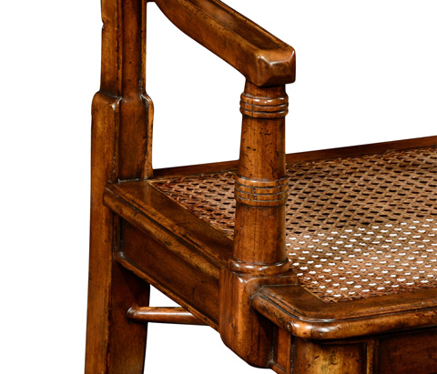 Jonathan Charles - Late Regency Style Caned Arm Chair - 492334