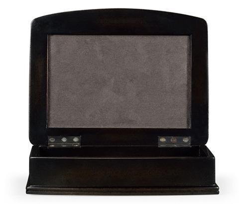 Jonathan Charles - Faux Shagreen Bronze Box - 494114-B