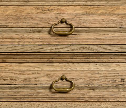 Jonathan Charles - Natural Oak Tudorbethan Side Table - 494227-L