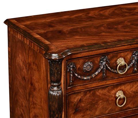 Jonathan Charles - Neo-Classical Mahogany Chest Of Drawers - 494330