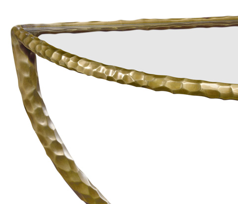 Jonathan Charles - Wall Mounted Bracket Table - 495081-BRA