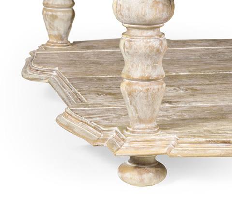Jonathan Charles - Square Limed Acacia Coffee Table - 495305-LMA