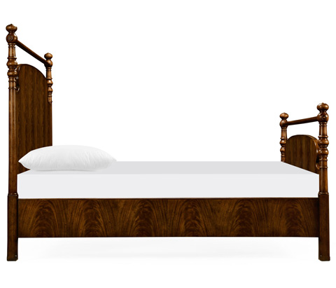 Jonathan Charles - Carluke Queen Bed - 530032-USQ