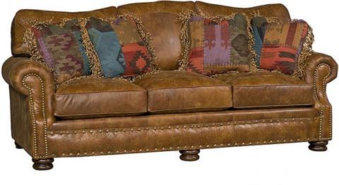 King Hickory - Easton Leather Sofa - 1600-L