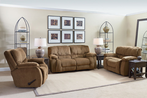 Lane Home Furnishings - Orlando Power Double Reclining Sofa - 310-59