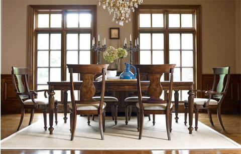 Legacy Classic Furniture - Splat Back Arm Chair - 5200-141 KD