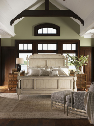 Lexington Home Brands - Hathaway Panel Bed 6/6 King - 351-144C