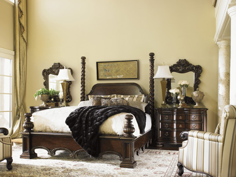 Lexington Home Brands - Vittorio Poster Bed 6/6 King - 900-174C