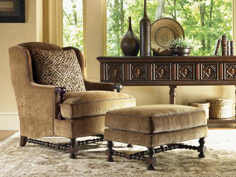 Lexington Home Brands - Bradbury Ottoman - 1538-44
