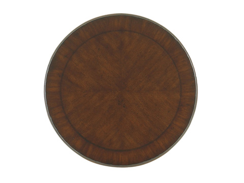 Tommy Bahama - Bandera Leather Accent Table - 545-953
