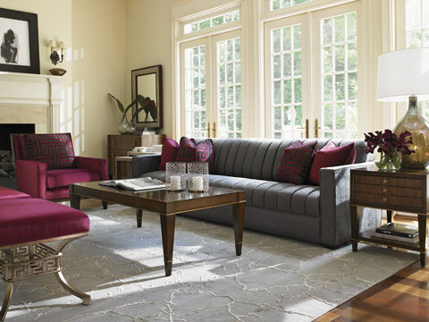Lexington Home Brands - Beldon Ottoman - 7492-44