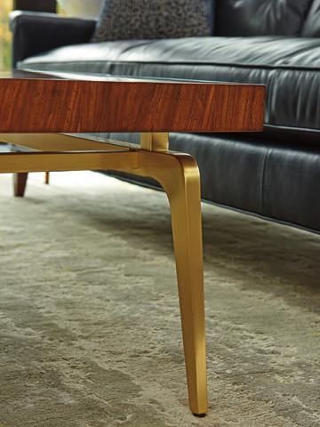 Lexington Home Brands - Bryant Park Rectangular Cocktail Table - 723-945C