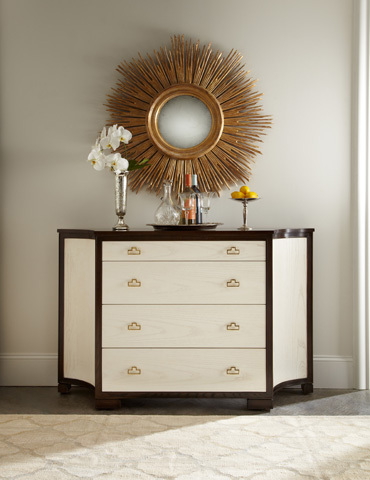 Image of Guy Clipped Corner Credenza