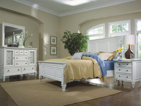 Magnussen Home - Ashby Patina White Bedroom Chest - 71904