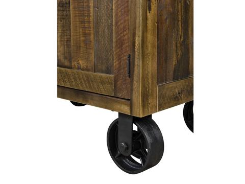 Magnussen Home - Door Nightstand with Casters - B2375-03