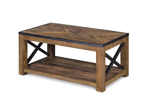 Image of Small Rectangular Cocktail Table