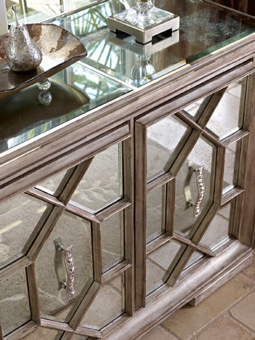 Marge Carson - Mirrored Credenza - BOS10