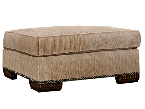 Marge Carson - Bentley Large Ottoman - BY48L