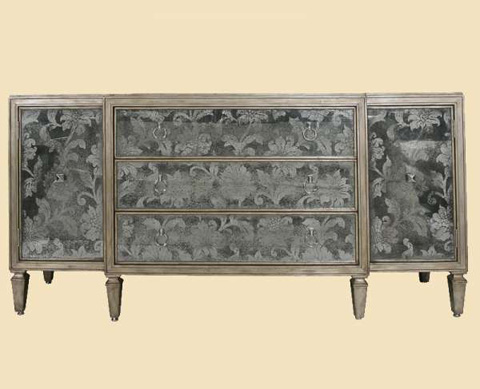 Marge Carson - Dresser with Media Storage - DSF10-2