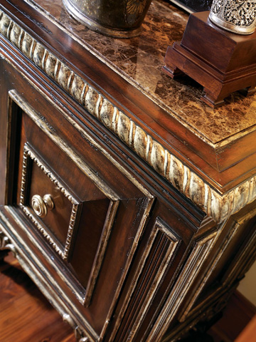 Marge Carson - Marble Top Sideboard - MTQ10