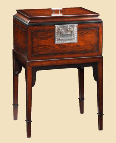 Marge Carson - Tao Chairside Table - TAO30-1