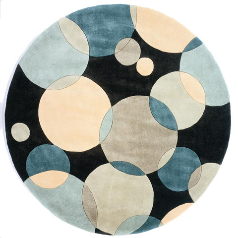 Momeni - New Wave Rug in Teal - NW-037 TEAL