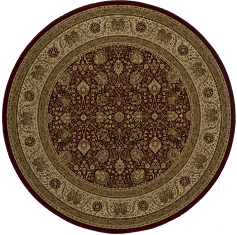 Momeni - Royal Rug in Red - RY-02 RED