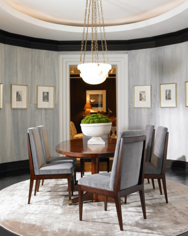 Mr. and Mrs. Howard by Sherrill Furniture - London Dining Table - MH10014