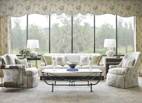 Mr. and Mrs. Howard by Sherrill Furniture - Salon Sofa - H912S