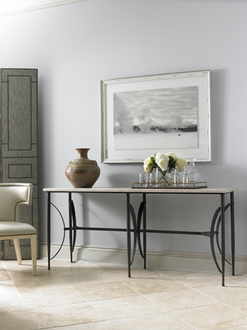 Mr. and Mrs. Howard by Sherrill Furniture - Alfies Console - MH16331-91