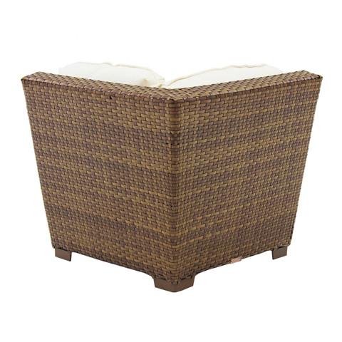 Pelican Reef - Panama Jack St Barths Modular Corner Chair - PJO-3001-BRN-C