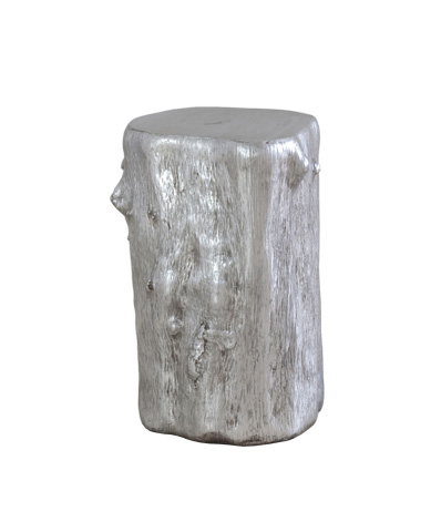 Image of Silver Leaf Log Stool
