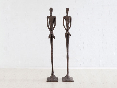 Image of Skinny Male Sculpture