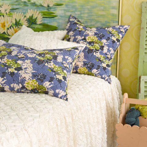 Pine Cone Hill, Inc. - Candlewick Dove White Bedspread - King - CDLWSKCGK