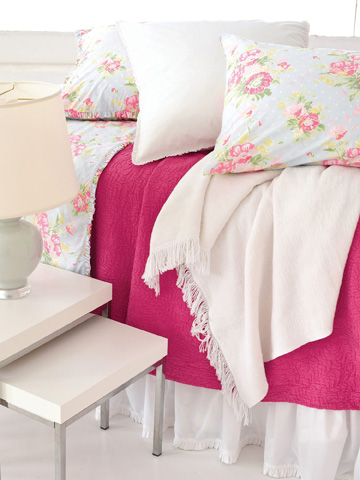 Pine Cone Hill, Inc. - Classic Ruffle White Bed Skirt - King - SCBSK
