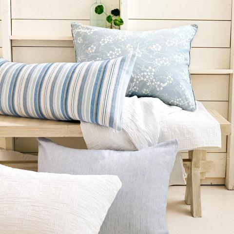Pine Cone Hill, Inc. - Honfleur Linen Decorative Pillow - HLDPDB