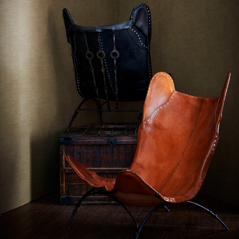 Ralph Lauren by EJ Victor - New Safari Camp Chair - 056-03B