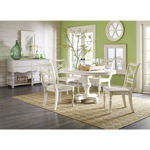 Riverside Furniture - X-Back Side Chair - 16759