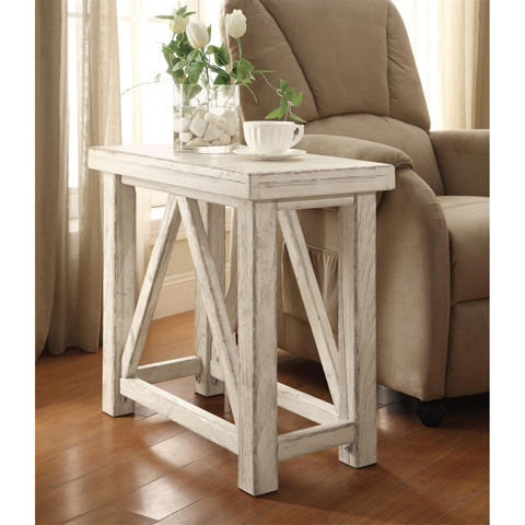 Riverside Furniture - Chairside Table - 21212