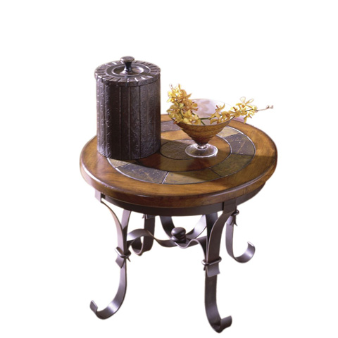 Riverside Furniture - Round Side Table - 31009