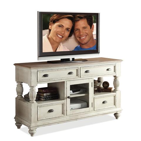 Riverside Furniture - Tall TV Console - 32541