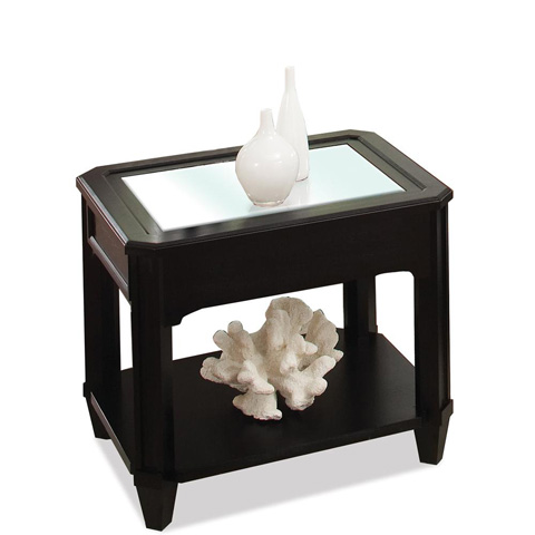 Riverside Furniture - Rectangular Glass Top Side Table - 40807