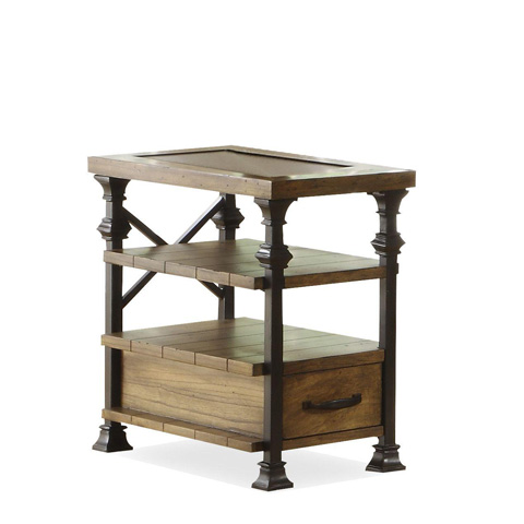 Riverside Furniture - Chairside Table - 5610
