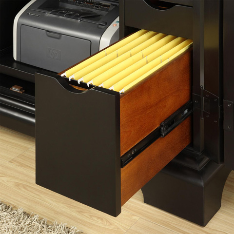 Riverside Furniture - Computer Armoire - 7185