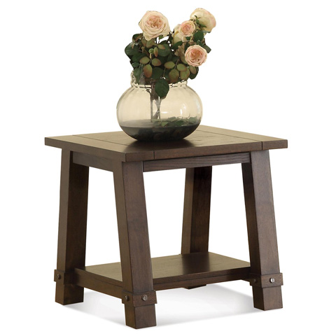 Riverside Furniture - Angled Leg Side Table - 76508