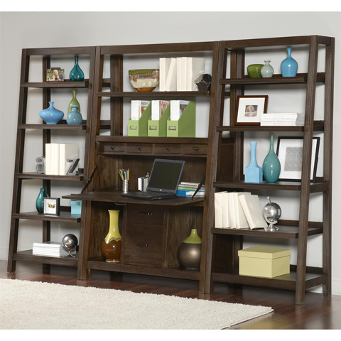 Riverside Furniture - Canted Bookcase - 84537