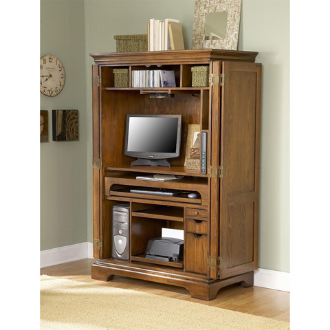 Riverside Furniture - Computer Armoire - 8985