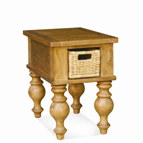 Riverside Furniture - Chairside Table - 91611