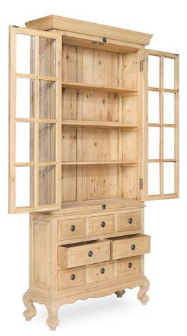 Sarreid Ltd. - The Tall Hall Book Cabinet - 29828